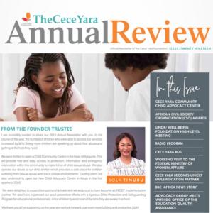 The Cece Yara Annual Report 2019
